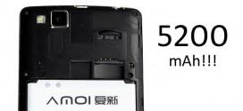 Amoi M1 s 5200mAh baterijom – Struje ko' u priči!
