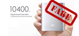 Xiaomi 10400mAh Power Fake