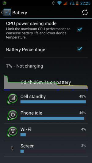 Zopo ZP998 Baterija
